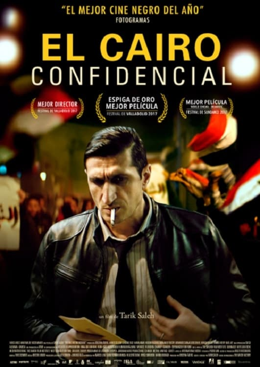 Póster El Cairo confidencial