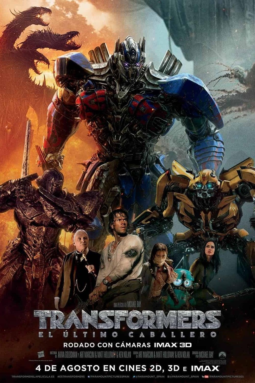 Póster Transformers: El último caballero