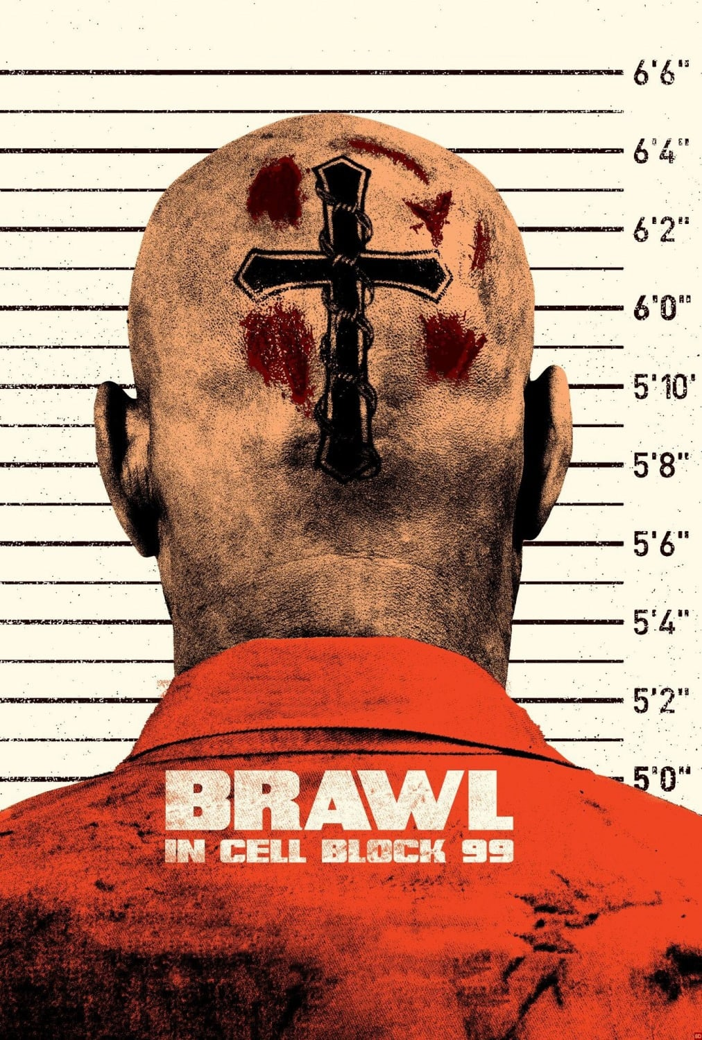 Póster Brawl in Cell Block 99