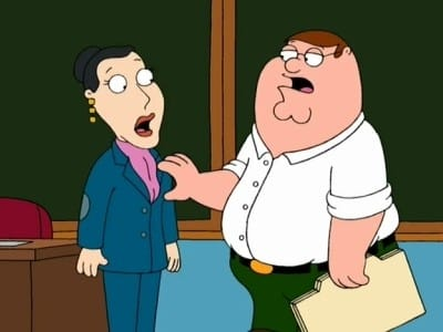 Family Guy Season 2 :Episode 8  I Am Peter, Hear Me Roar
