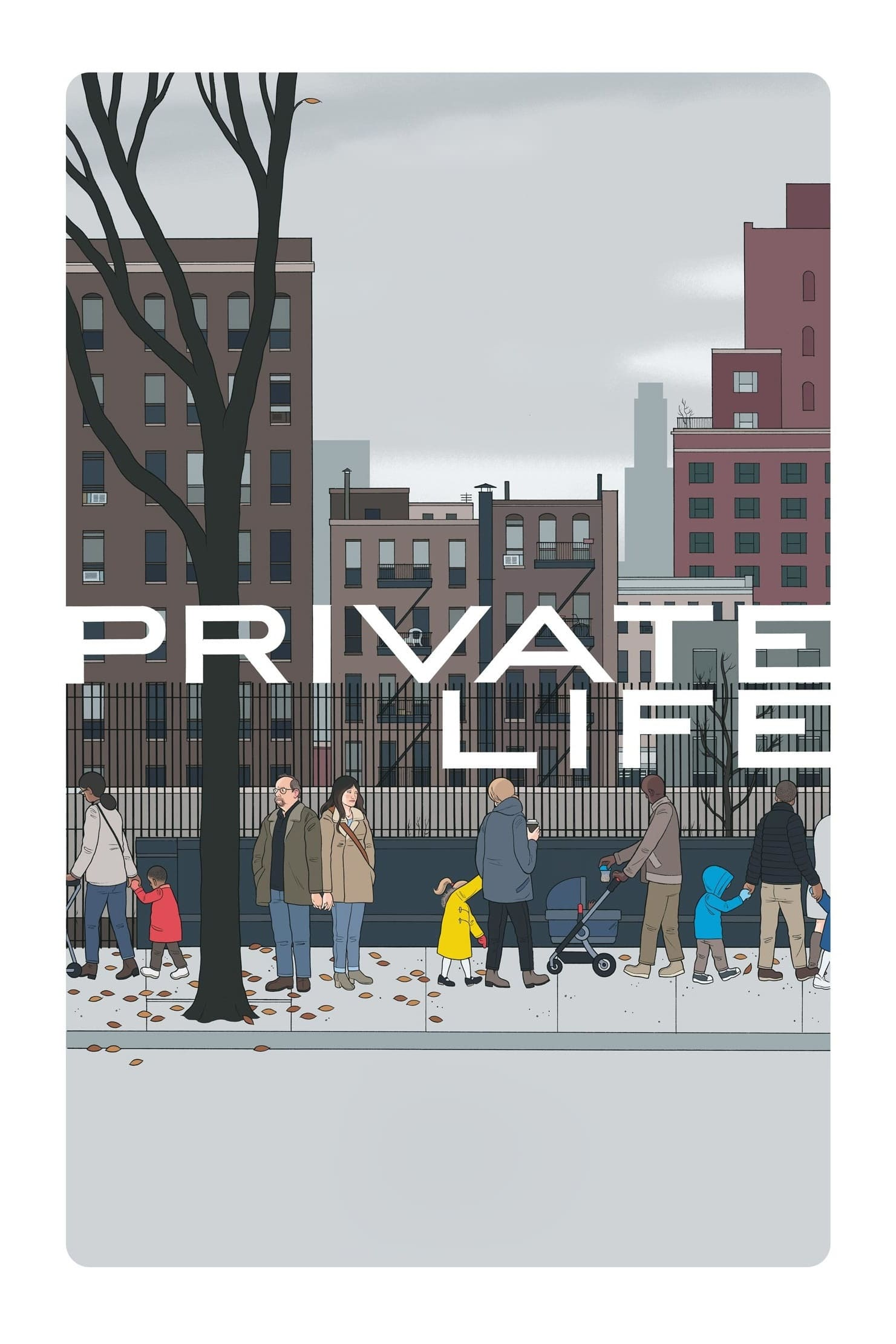 Póster Vida privada