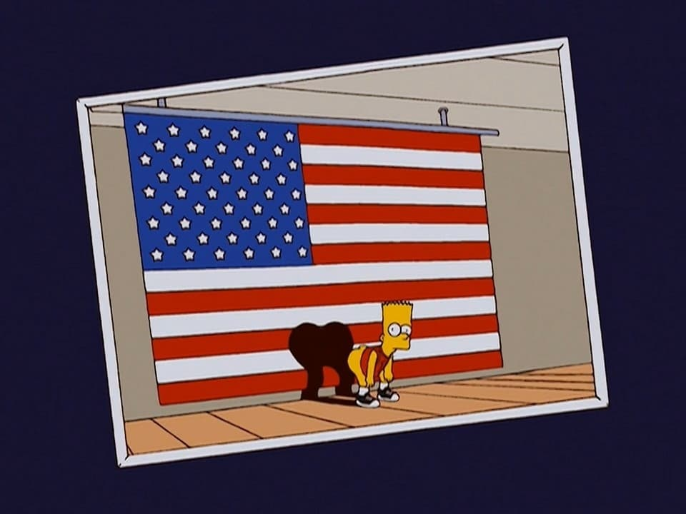 The Simpsons Season 15 :Episode 21  Bart-Mangled Banner