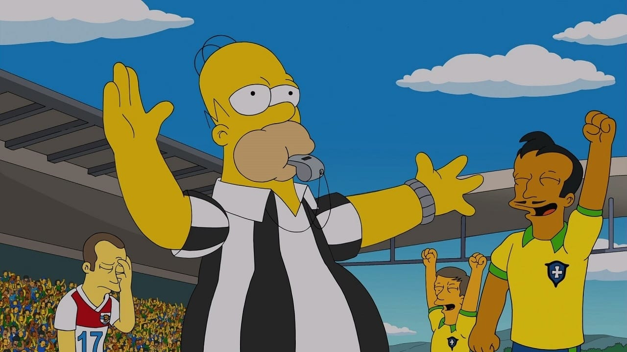 The Simpsons Season 25 : You Don't Have to Live Like a Referee