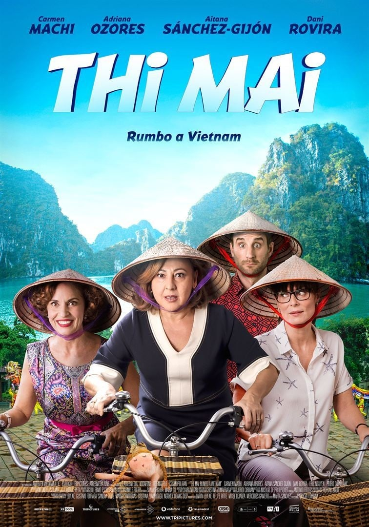 Póster Thi Mai, rumbo a Vietnam