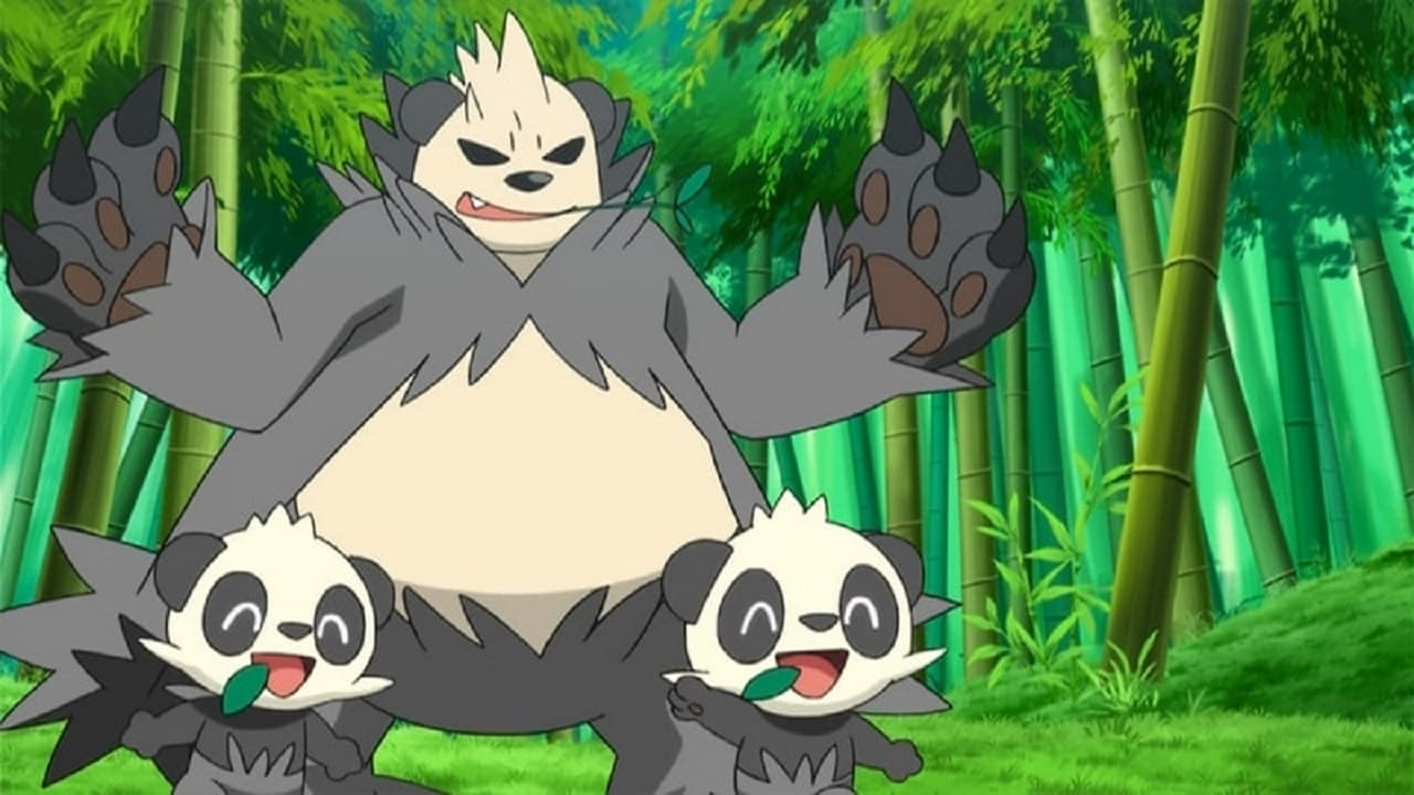 Pokémon Season 17 :Episode 11  The Bamboozling Forest!