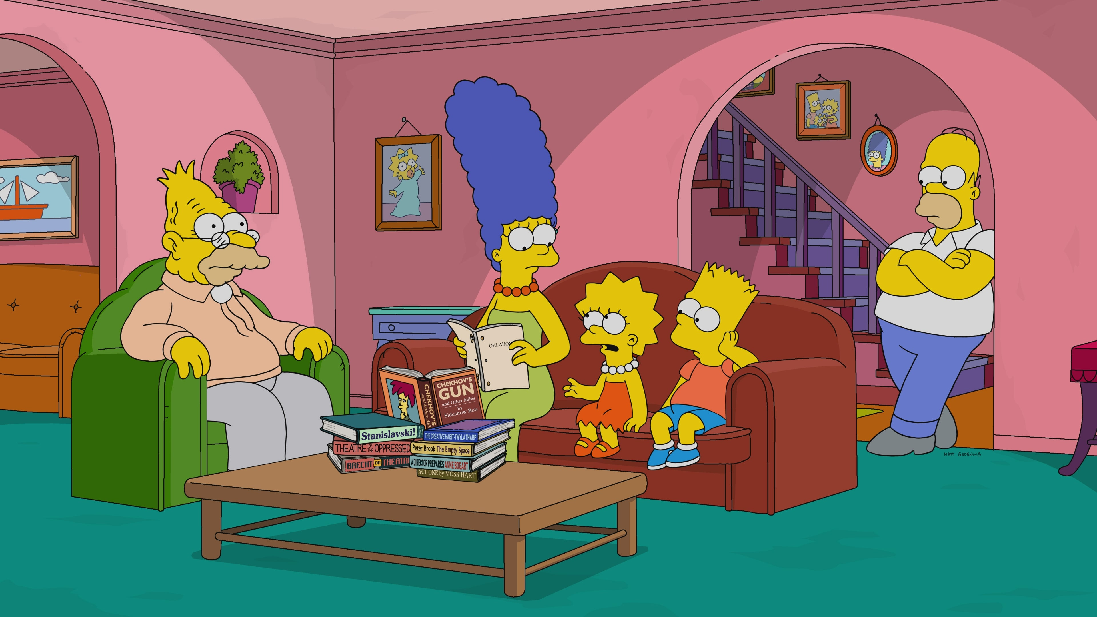 The Simpsons Season 30 :Episode 20  I'm Just a Girl Who Can't Say D'oh