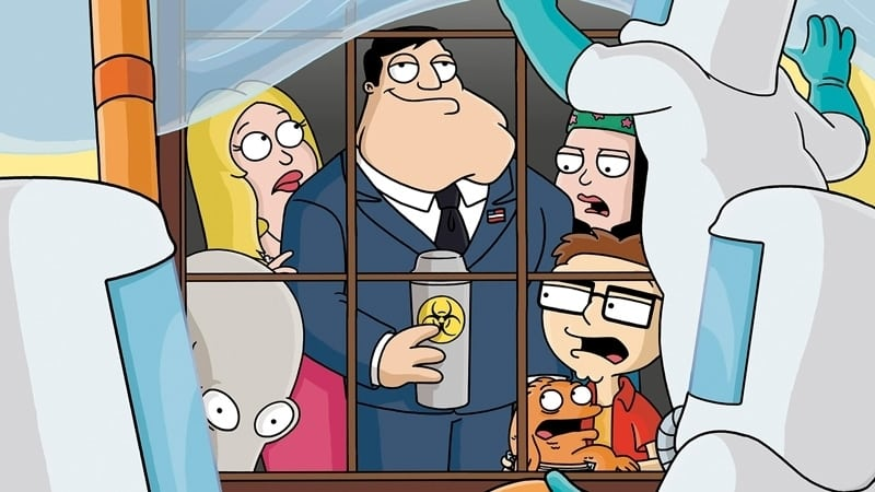 American Dad! Season 1 :Episode 2  Threat Levels