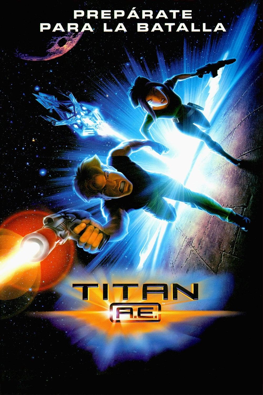 Póster Titan A.E.