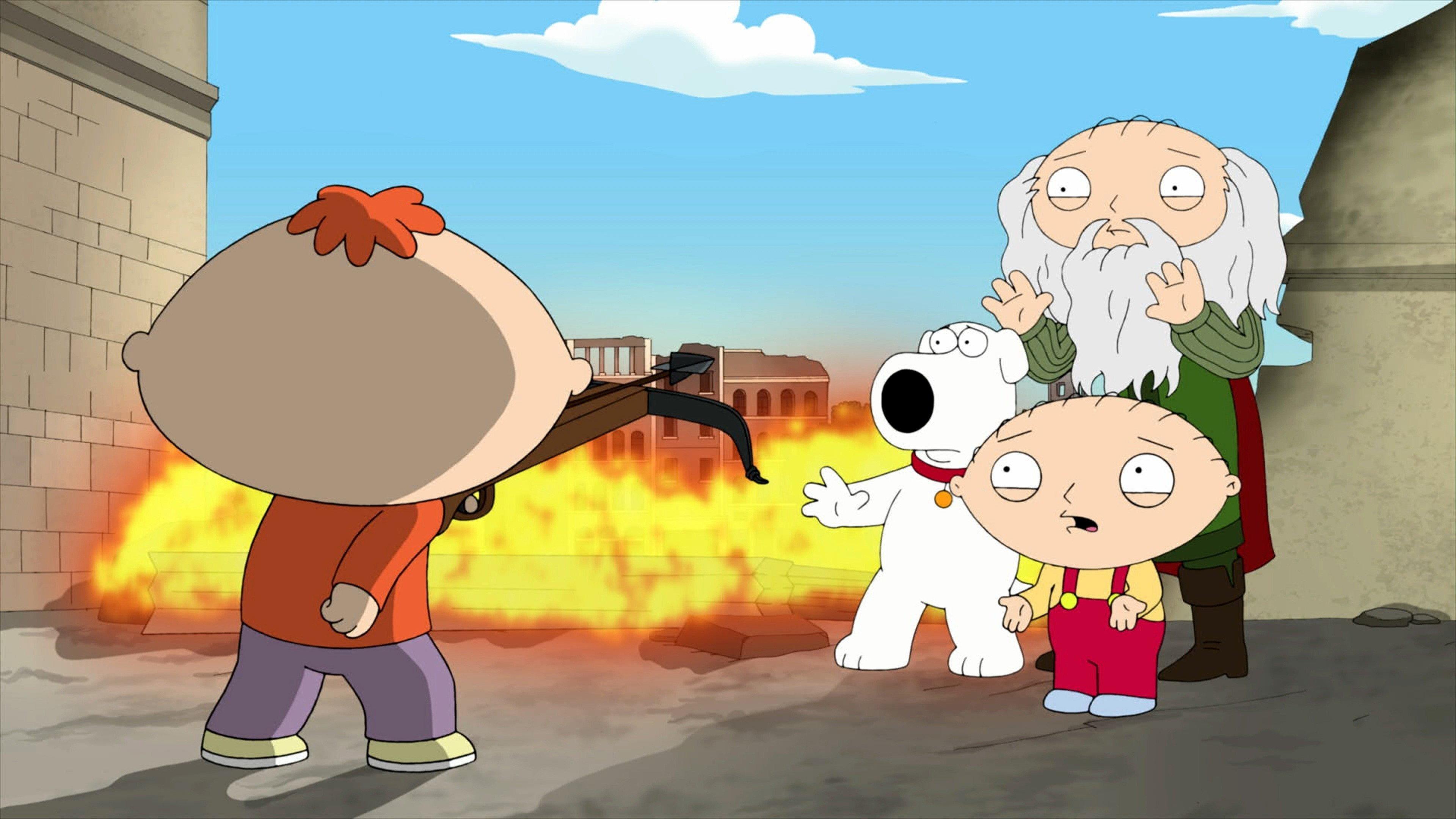 Family Guy Season 9 :Episode 16  The Big Bang Theory