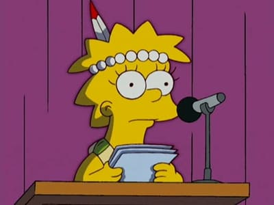 The Simpsons Season 18 :Episode 12  Little Big Girl
