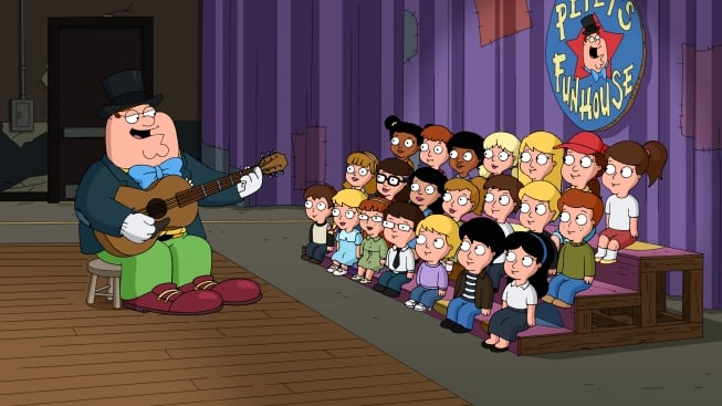 Family Guy Season 10 :Episode 18  You Can't Do That on Television, Peter