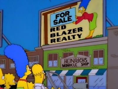 The Simpsons Season 9 :Episode 9  Realty Bites