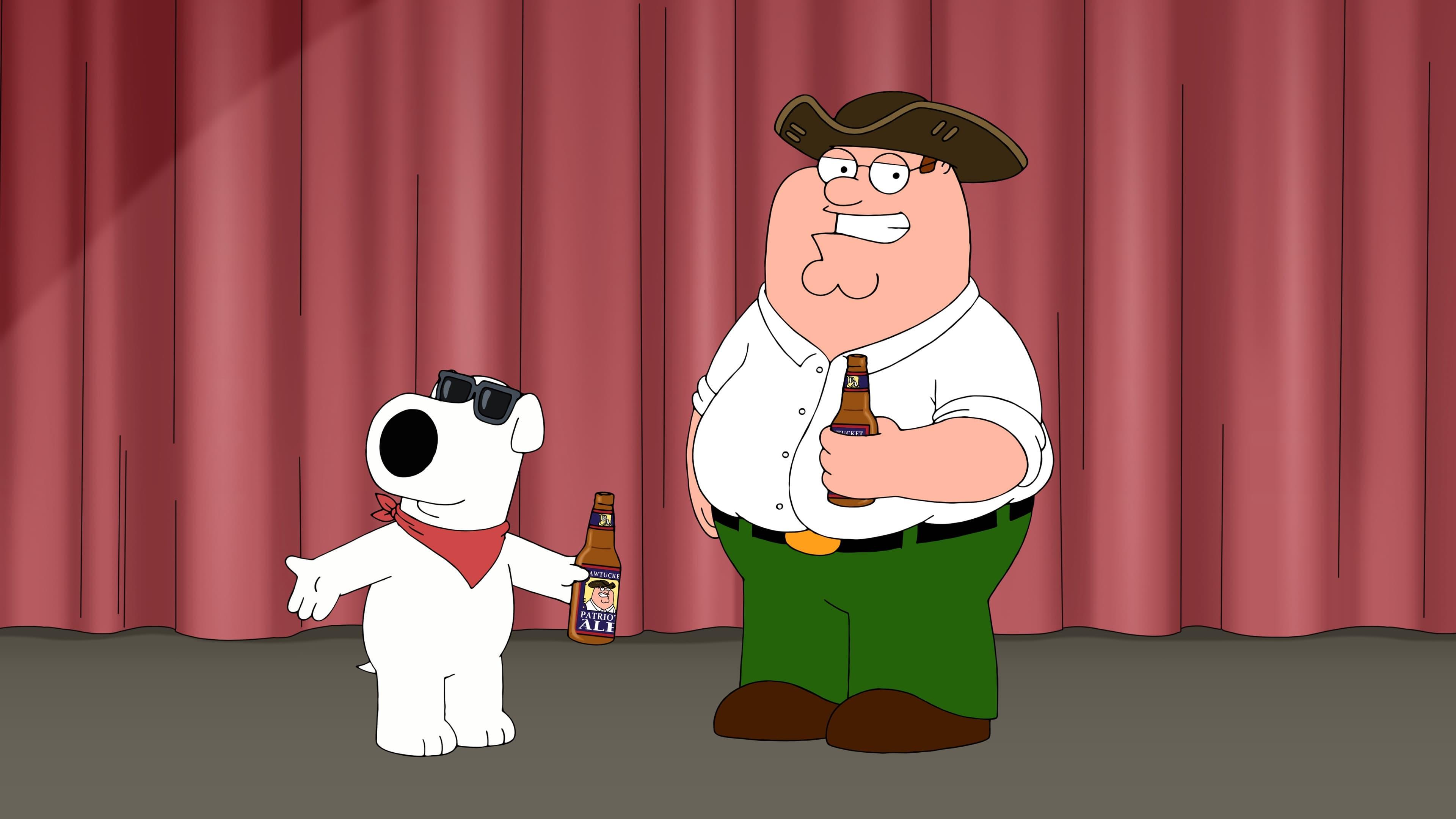 Family Guy Season 17 :Episode 9  Pawtucket Pete
