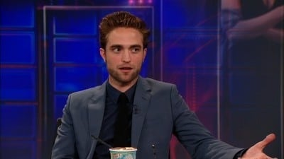 The Daily Show with Trevor Noah Season 17 :Episode 139  Robert Pattinson