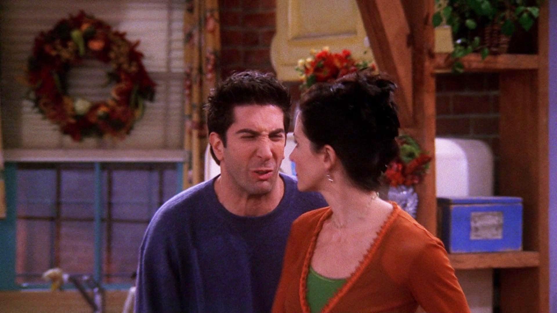 Friends Season 6 :Episode 9  The One Where Ross Got High