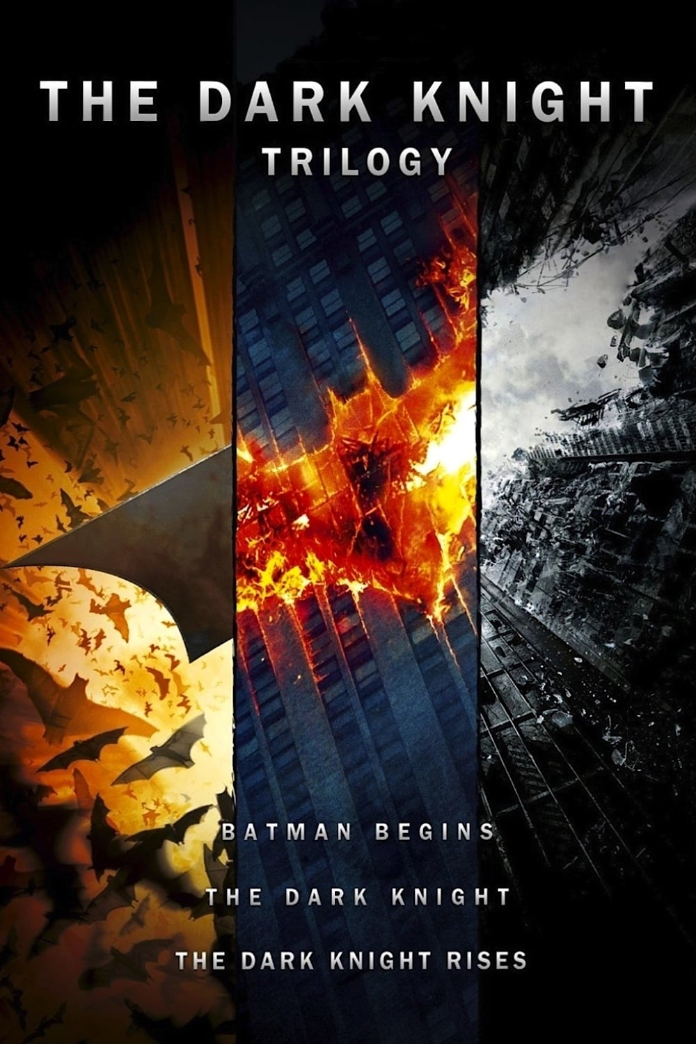 all movies from the dark knight collection saga are on