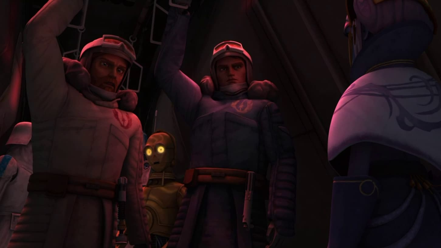 Star Wars: The Clone Wars - Season 1 Episode 15 : Trespass