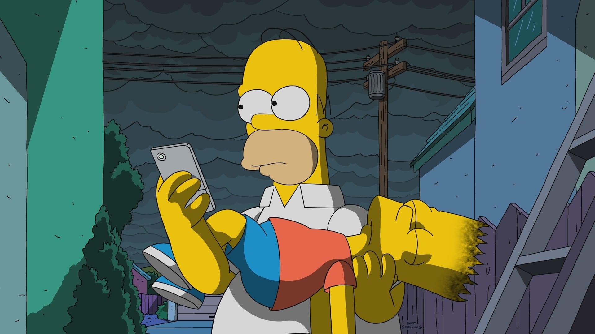 Die Simpsons Season 29 :Episode 21  Der Tod steht ihm gut