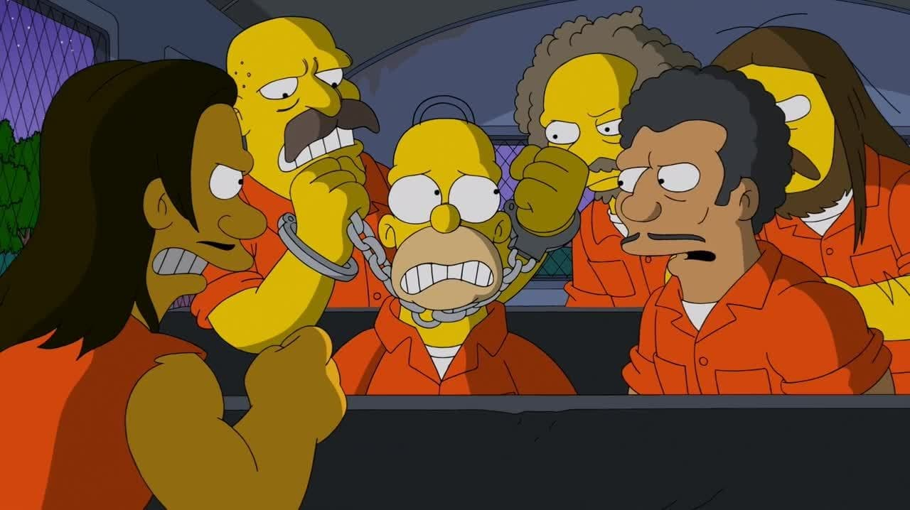The Simpsons - Season 25 Episode 9 : Steal This Episode