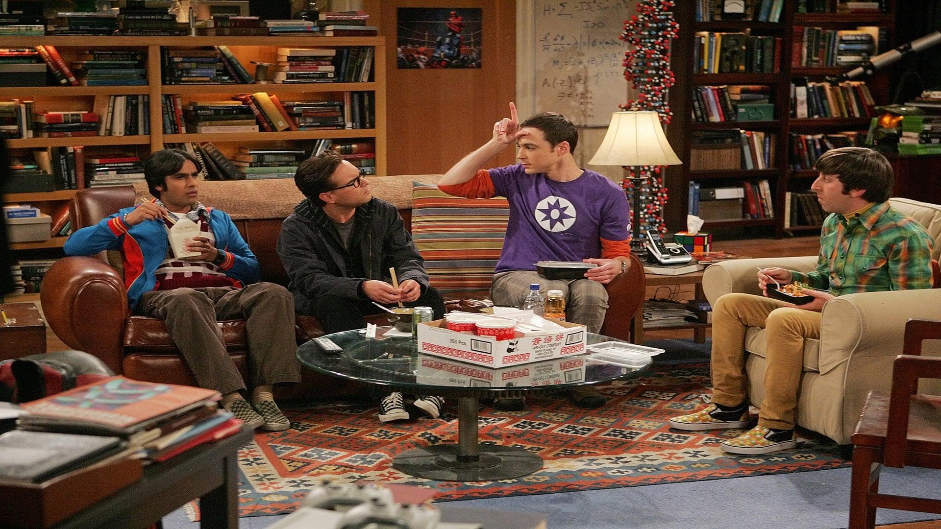The Big Bang Theory Season 3 : The Spaghetti Catalyst