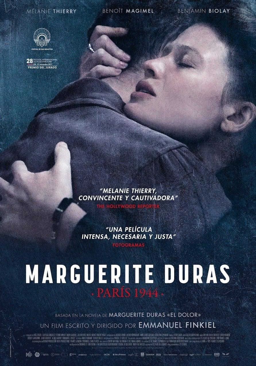 Póster Marguerite Duras. Par�s 1944