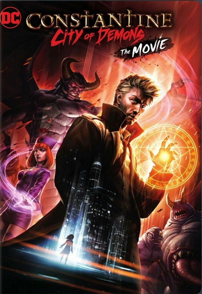 Póster Constantine: City of Demons The Movie