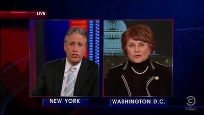 The Daily Show with Trevor Noah Season 17 :Episode 58  Louise Slaughter