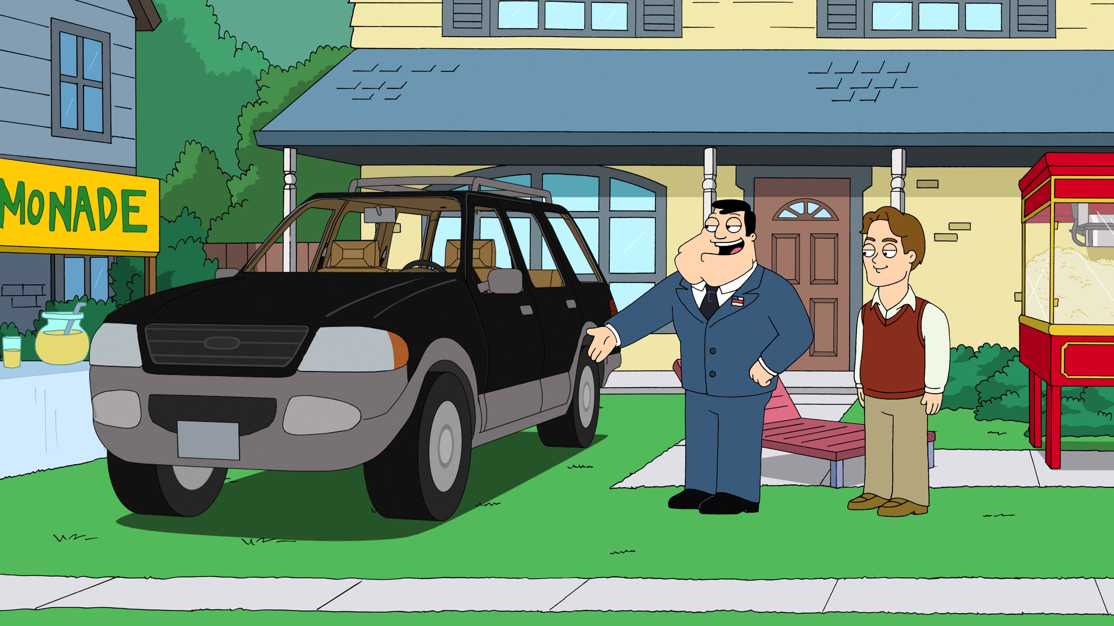 American Dad! Season 9 :Episode 1  Love, AD Style