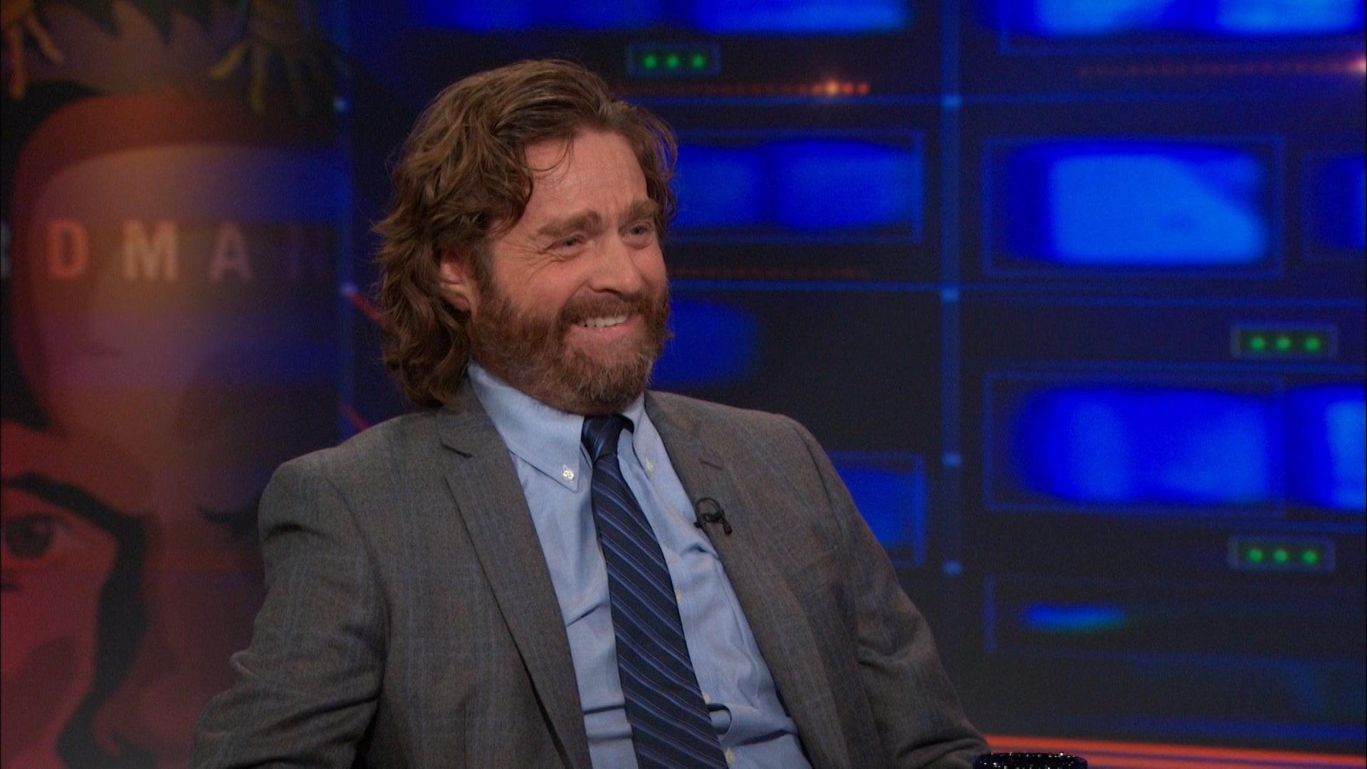 The Daily Show with Trevor Noah Season 20 :Episode 10  Zach Galifianakis