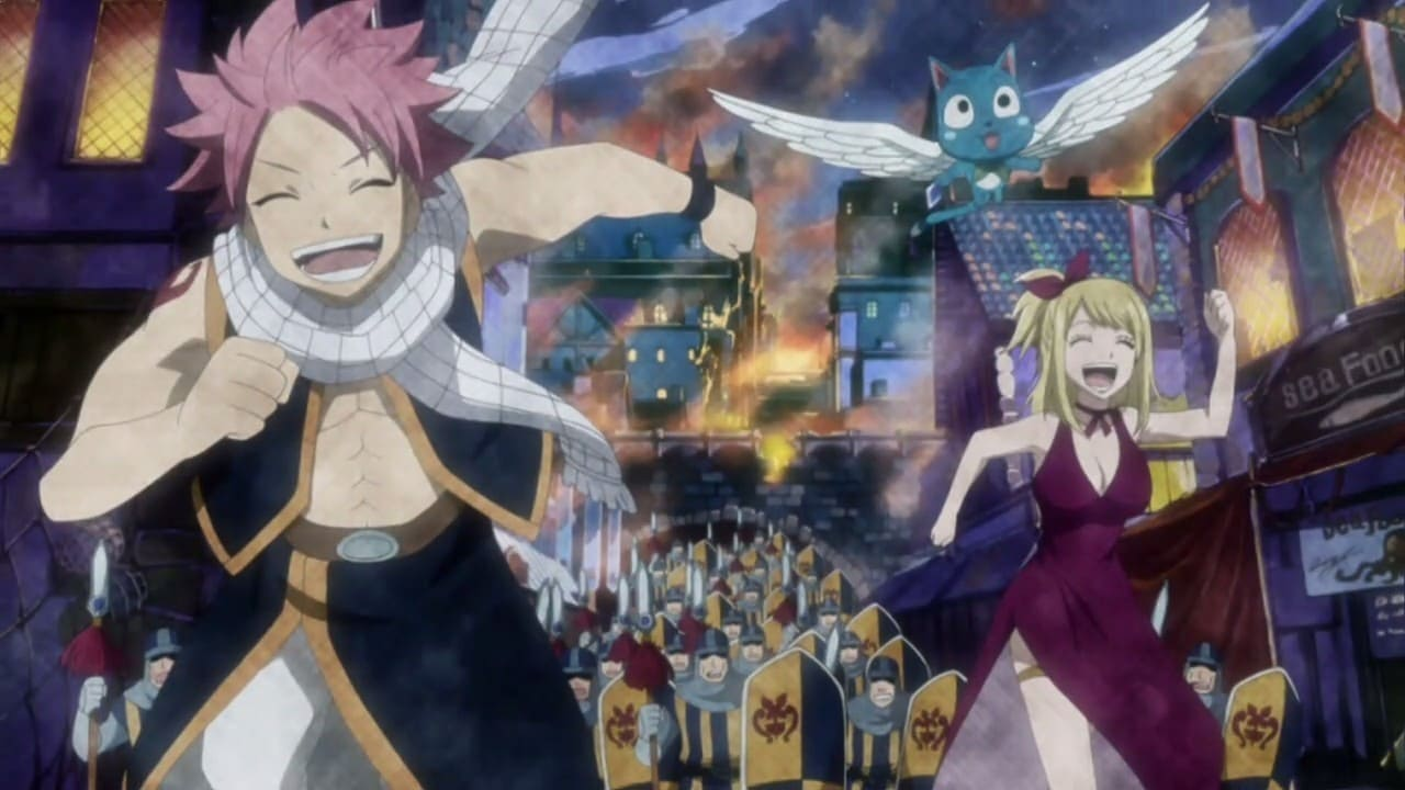 Fairy Tail Season 1 :Episode 1  Feenschweif