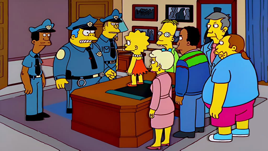 The Simpsons Season 10 :Episode 22  They Saved Lisa's Brain