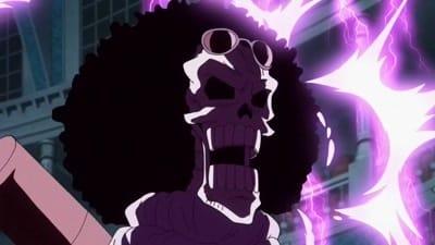 One Piece Season 19 :Episode 818  The Undaunted Soul! Brook vs. Big Mom!