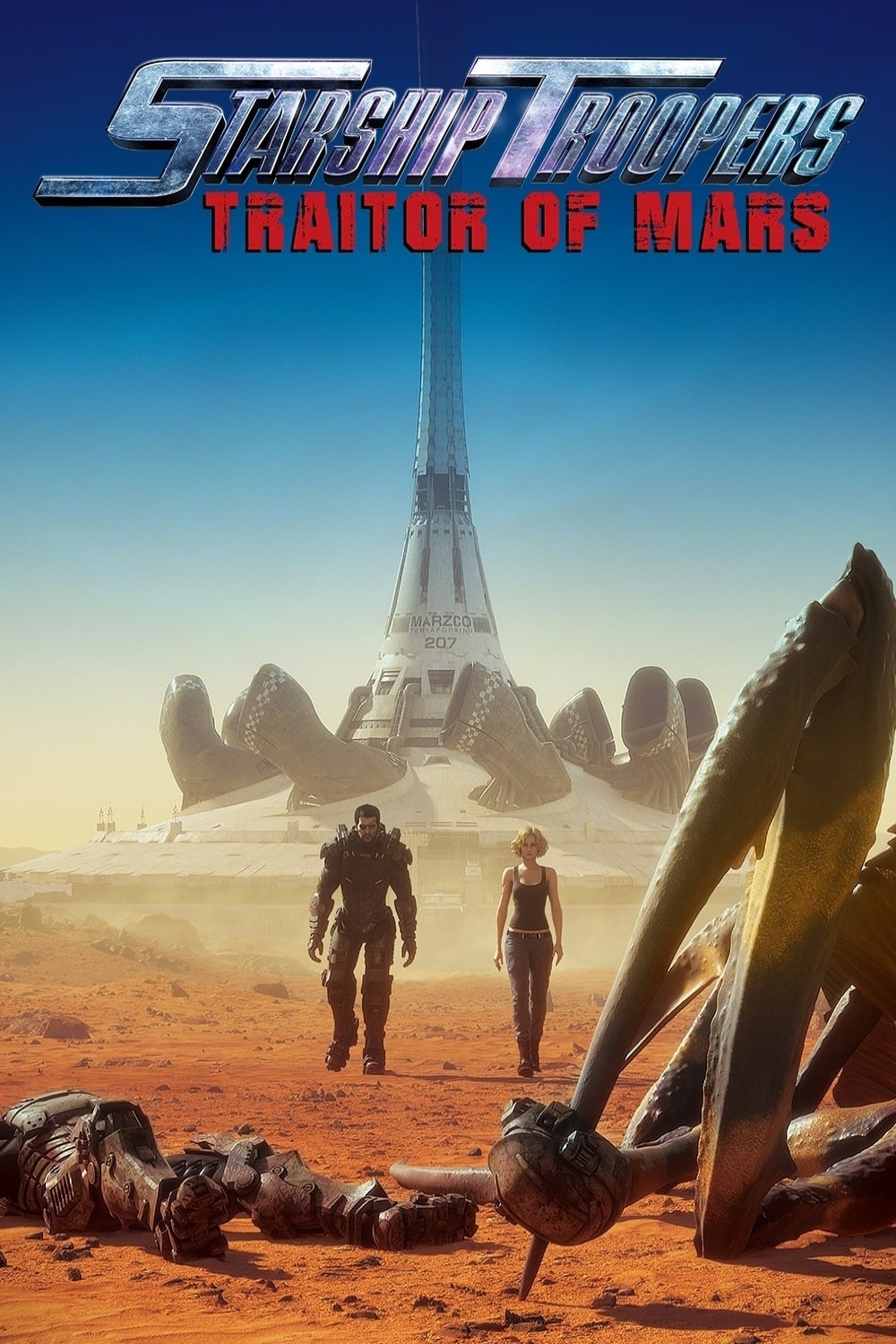 Póster Starship Troopers: Traitor of Mars