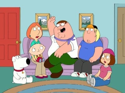 Family Guy Season 7 :Episode 8  Family Gay
