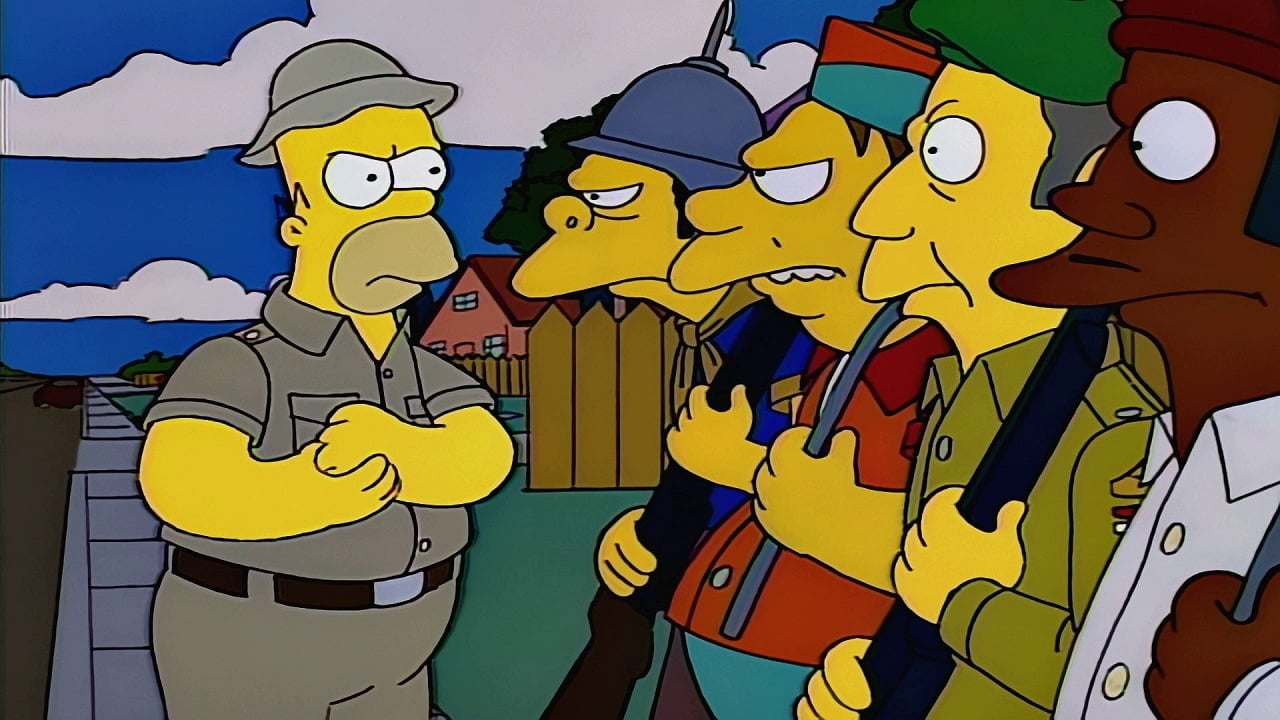 The Simpsons Season 5 :Episode 11  Homer the Vigilante