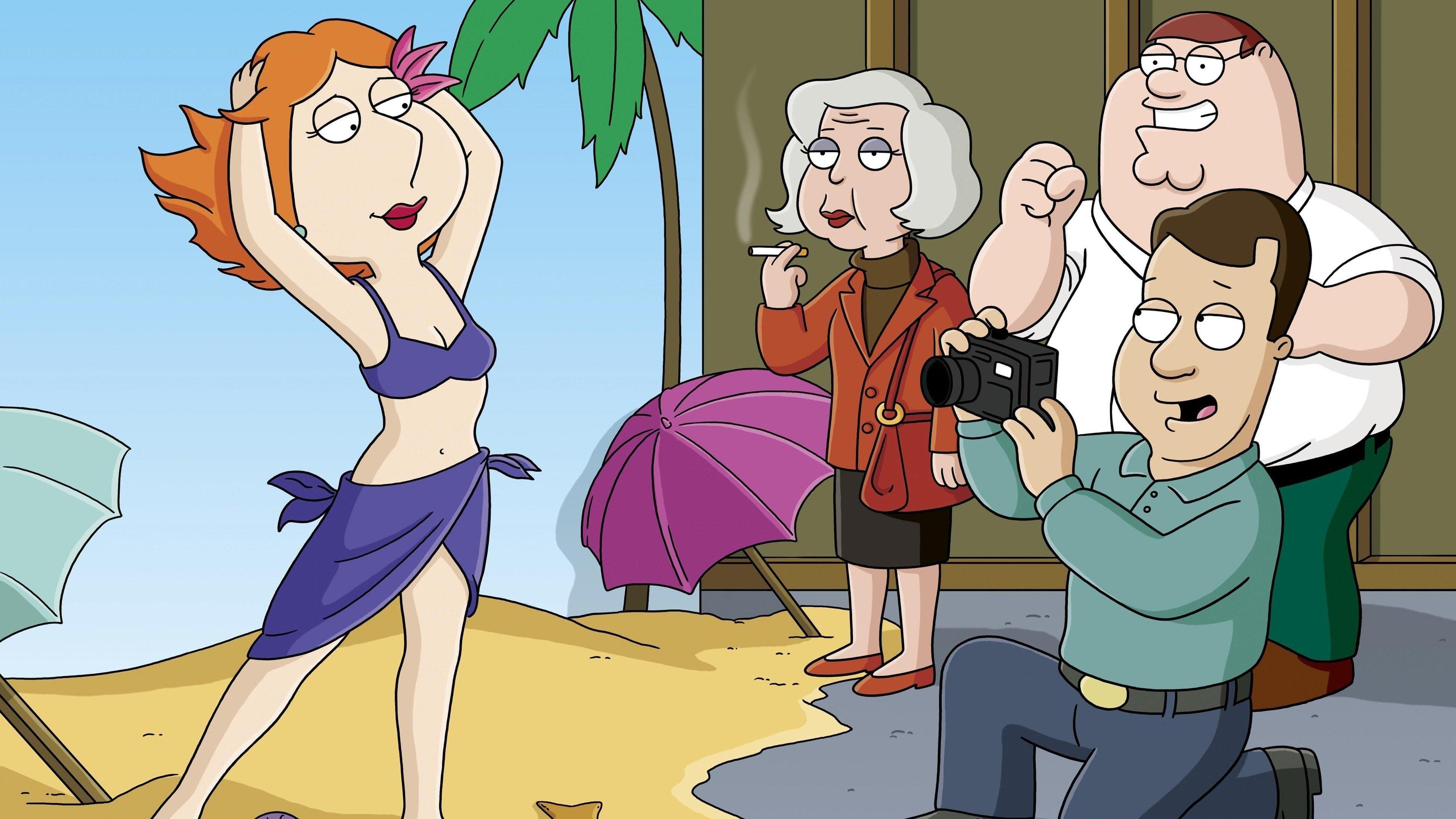 Family Guy Season 4 :Episode 10  Model Misbehavior