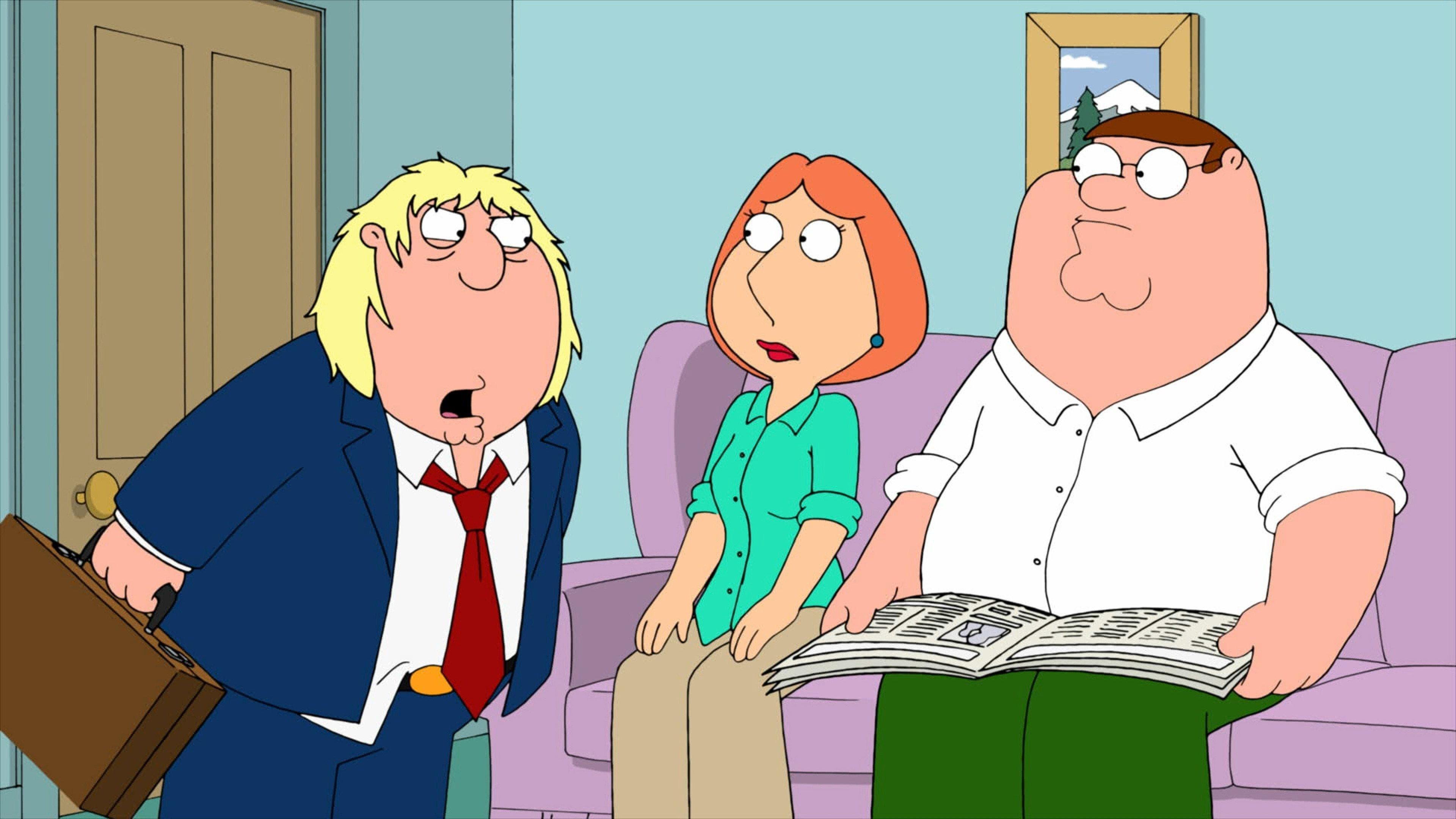 Family Guy Season 9 :Episode 13  Trading Places