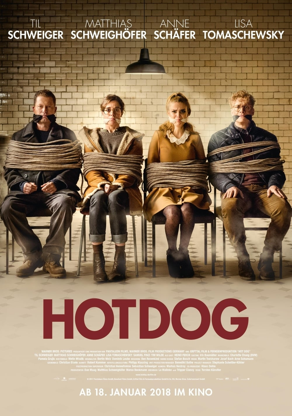 Póster Hot Dog