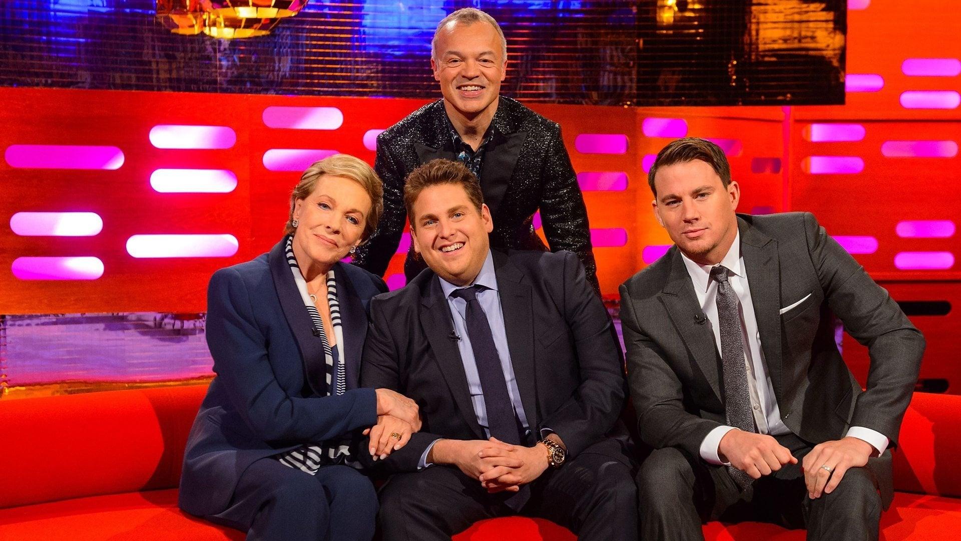 The Graham Norton Show Season 15 :Episode 8  Dame Julie Andrews, Channing Tatum, Jonah Hill, Pharrell Williams