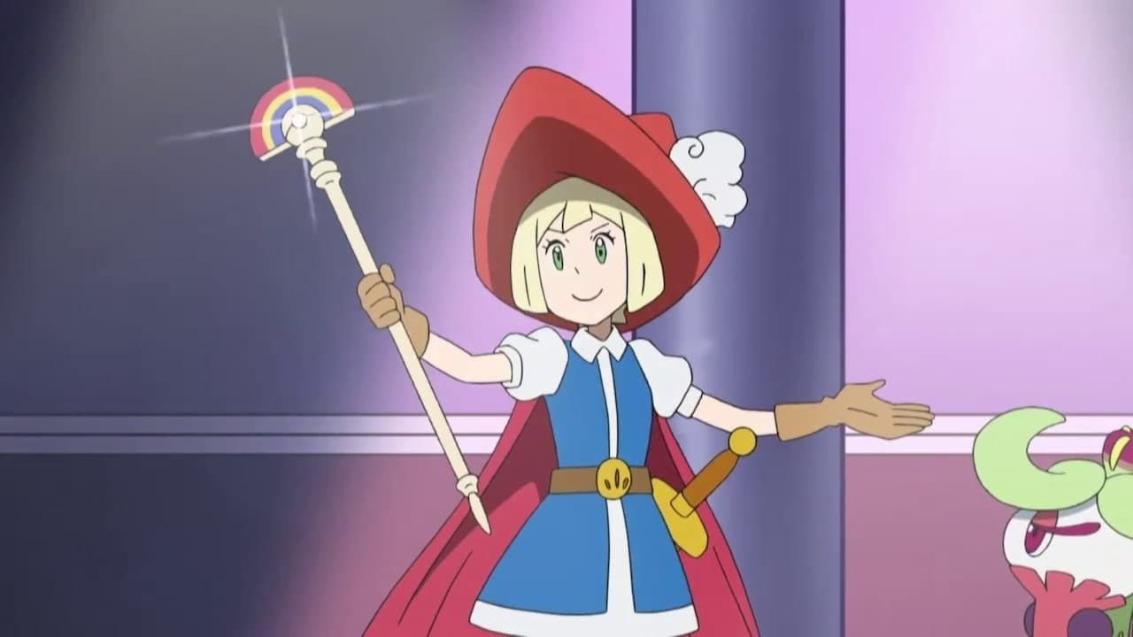 Pokémon Season 22 :Episode 1  Lillier and the Staff!