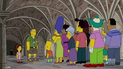 The Simpsons Season 21 :Episode 16  The Greatest Story Ever D'ohed