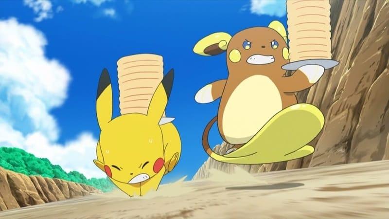 Pokémon Season 20 :Episode 13  Racing to a Big Event!