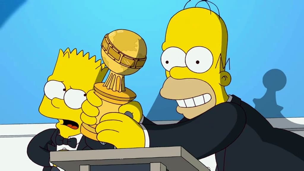 The Simpsons Season 22 :Episode 14  Angry Dad: The Movie