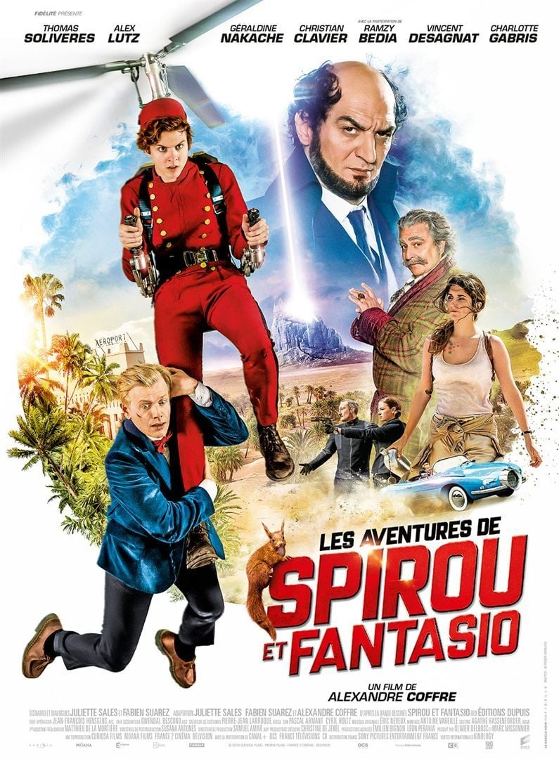 image for Les Aventures de Spirou et Fantasio