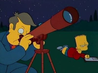 The Simpsons Season 6 :Episode 14  Bart's Comet