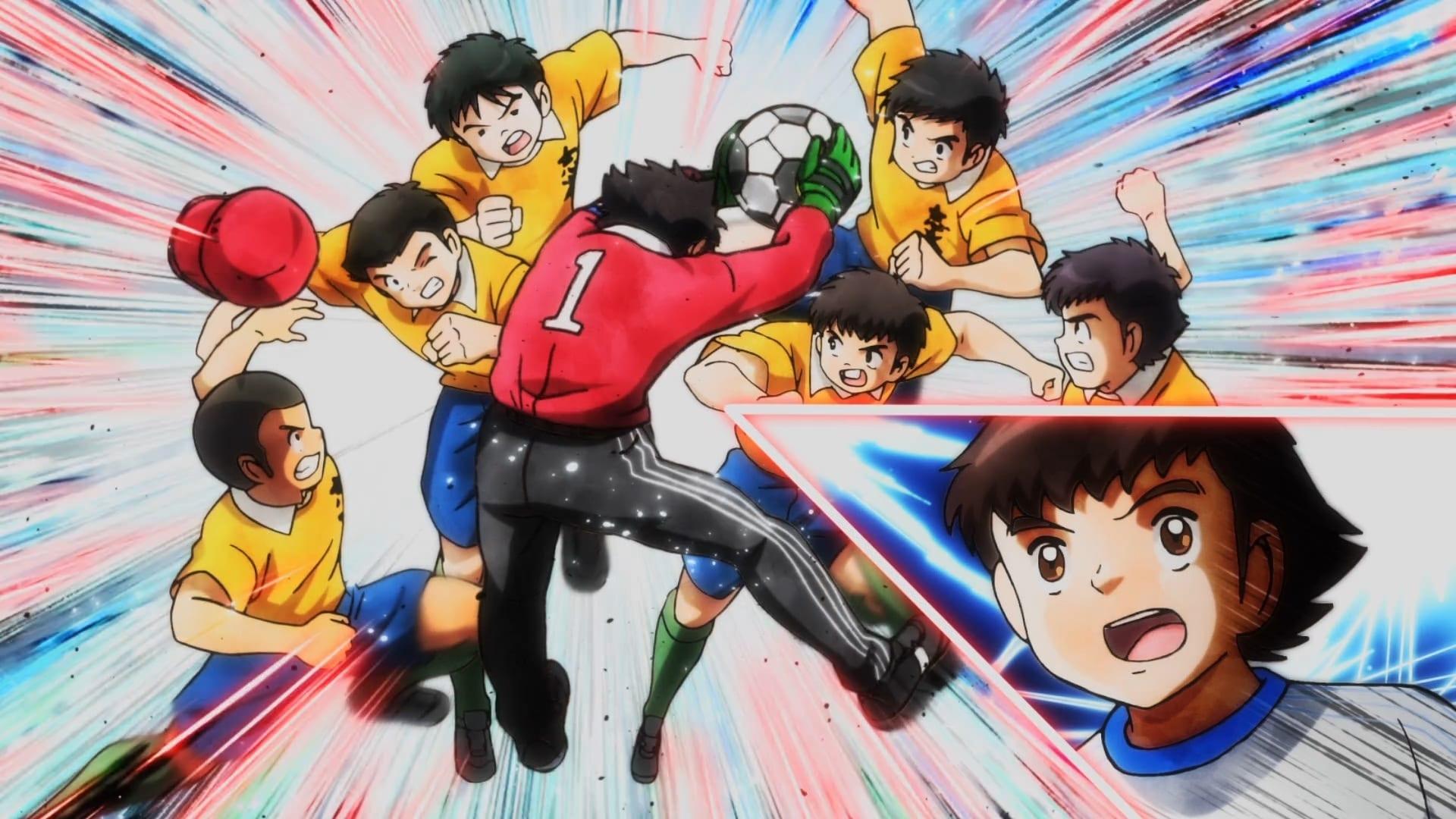 Captain Tsubasa - Season 1 Episode 12 : Crushing Wakabayashi