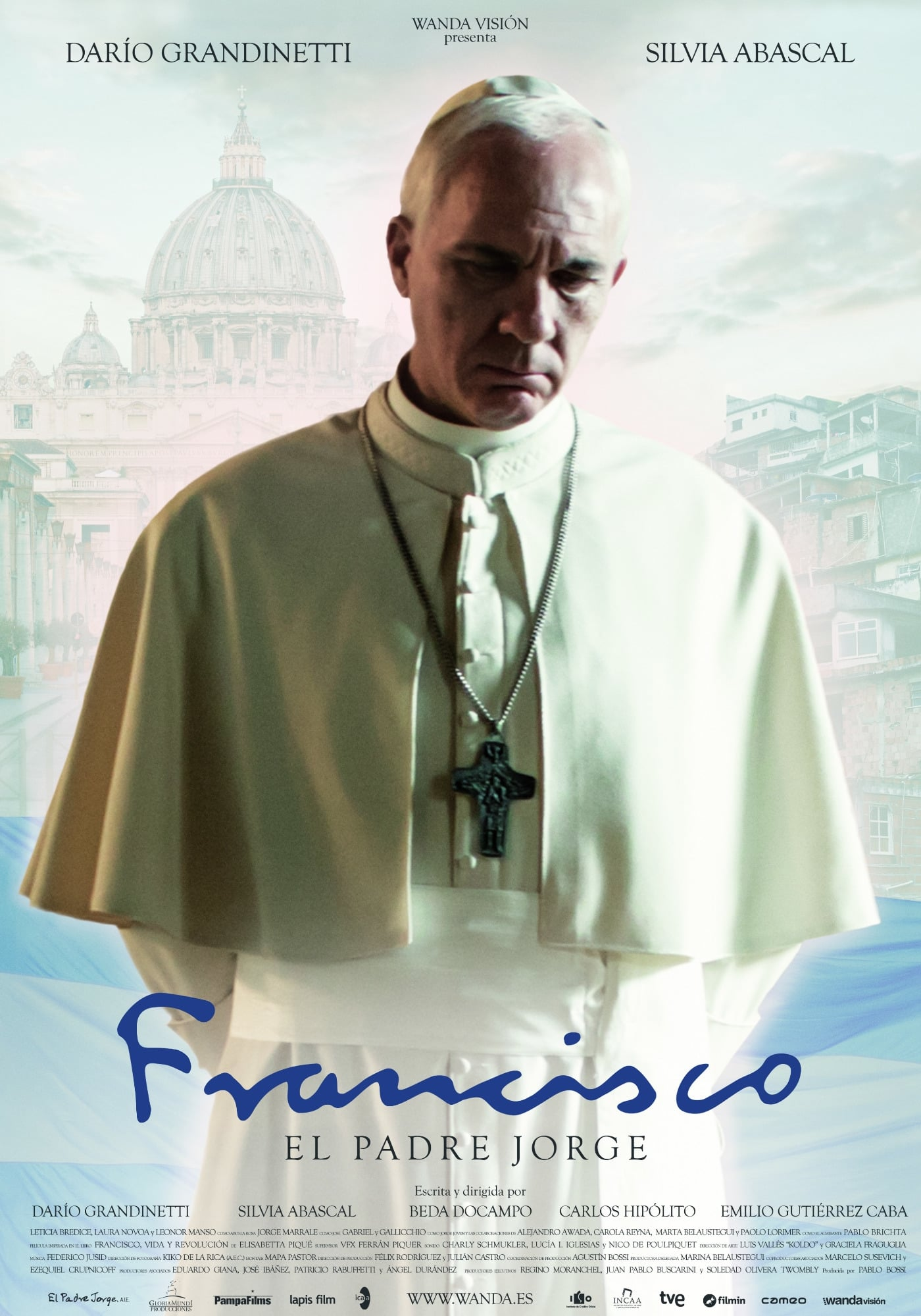 Póster Francisco: el Padre Jorge