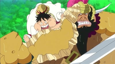 One Piece Season 19 :Episode 805  A Battle of Limits! Luffy and the Infinite Biscuits!