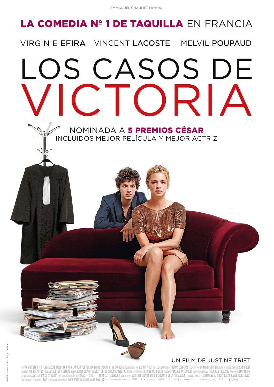 Póster Los casos de Victoria