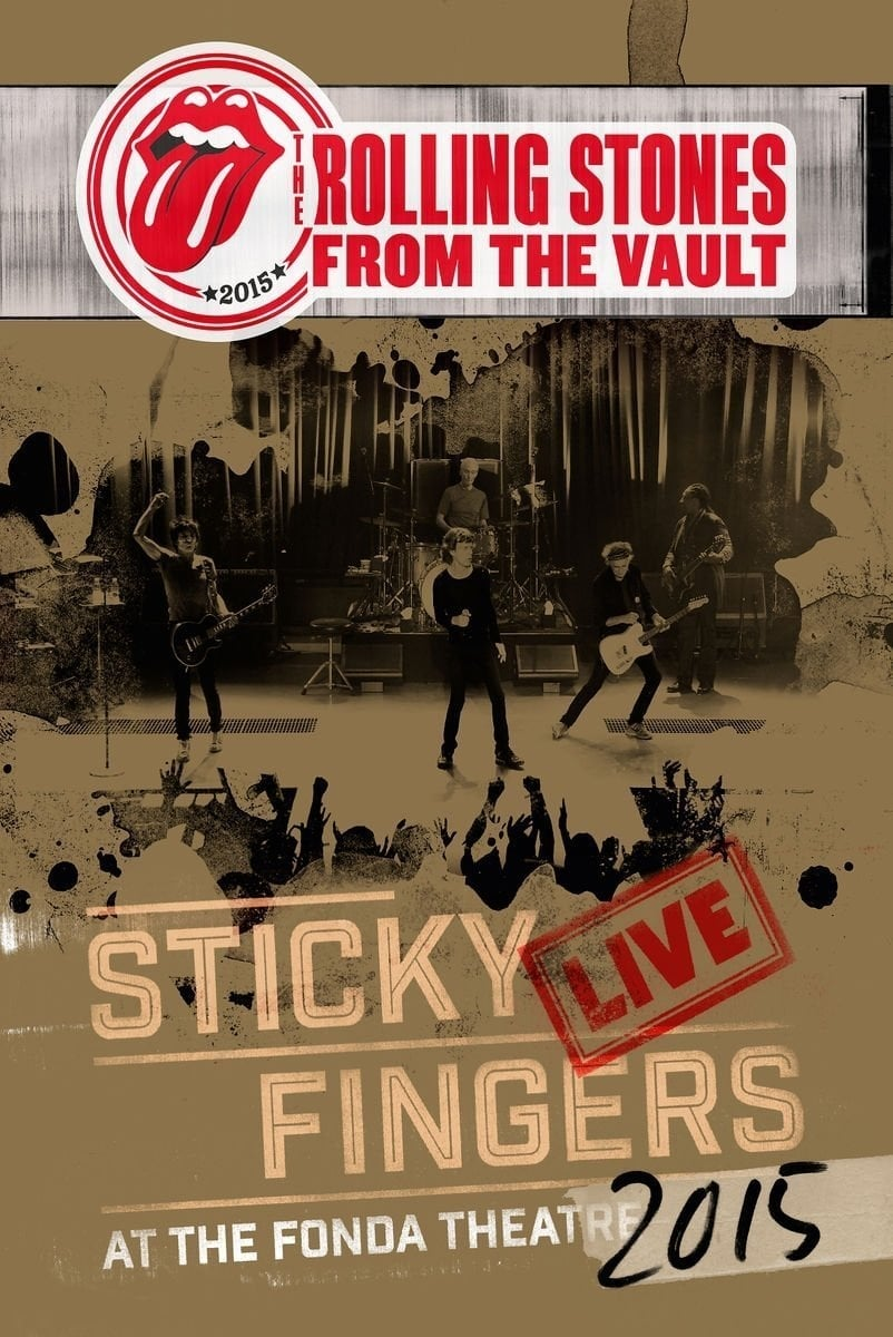 image for The Rolling Stones - From The Vault - Sticky Fingers Live At The Fonda Theatre 2015